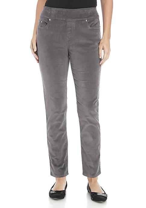 Kim Rogers® Petite Corduroy Pants