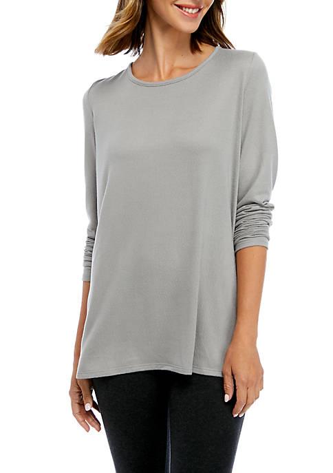 Kim Rogers® Hacci Split Hem Tunic