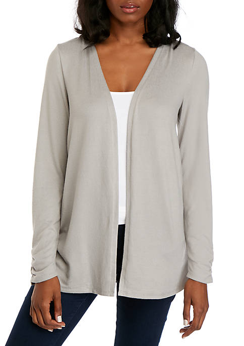 Hacci Ruched Cardigan