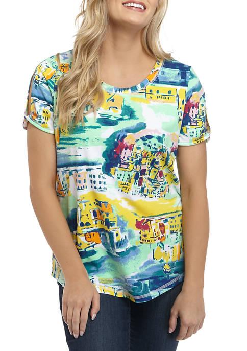 Womens Knit T-Shirt