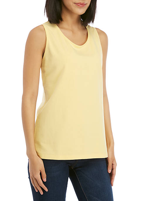 Kim Rogers® Sleeveless Solid Tank