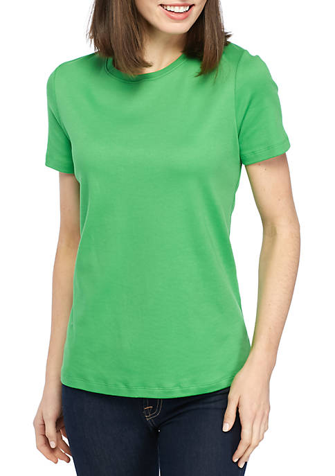 Kim Rogers® Short Sleeve Fashion Top