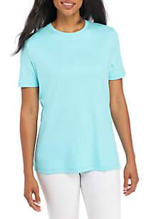 28711643e ... Kim Rogers® Short Sleeve Fashion Top