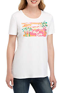 dbf025bdc73b0 New Directions® Girlfriend Jeans · Kim Rogers® Paradise T Shirt