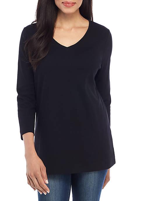3/4 Sleeve Essential T Shirt