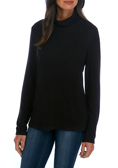 Kim Rogers® Long Sleeve Turtleneck Pullover