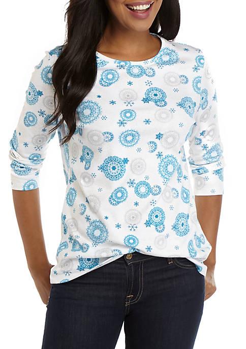 Womens Crew Posh T-Shirt