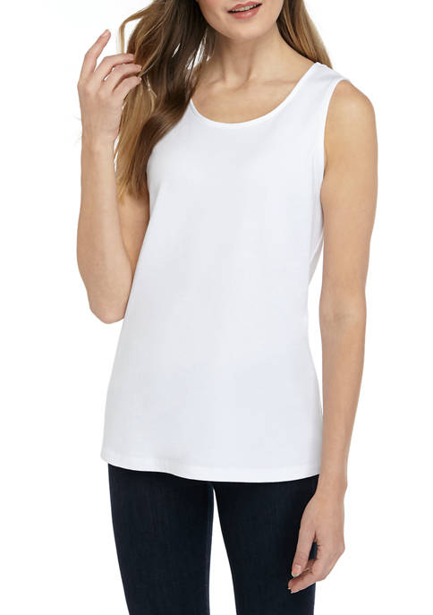 Kim Rogers® Womens Perfectly Soft Tank