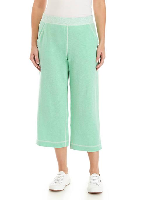 Kim Rogers® Double Knit Capri Pants