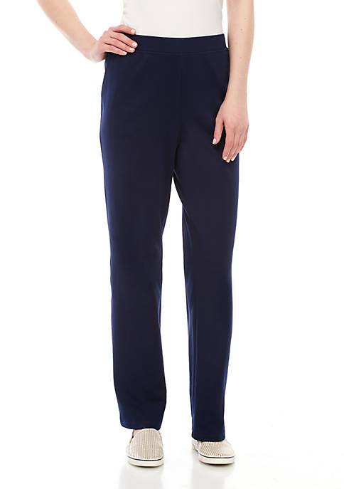 Kim Rogers® Pull On Solid Pants