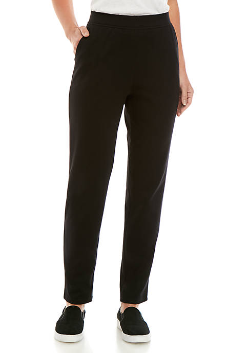 Kim Rogers® Interlock Slim Average Leg Pants