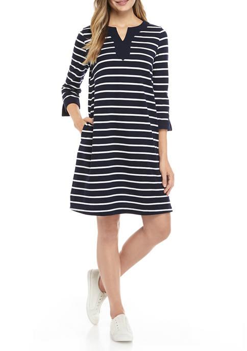 Kim Rogers® Womens Knit Kurta Dress