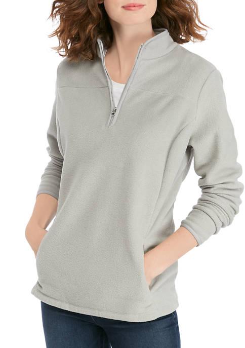 Womens Half Zip Fleece Jacket