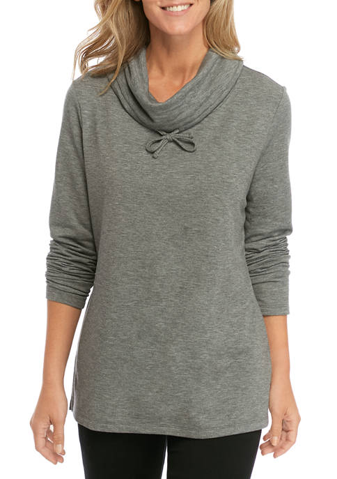 Womens Cowl Neck Tunic