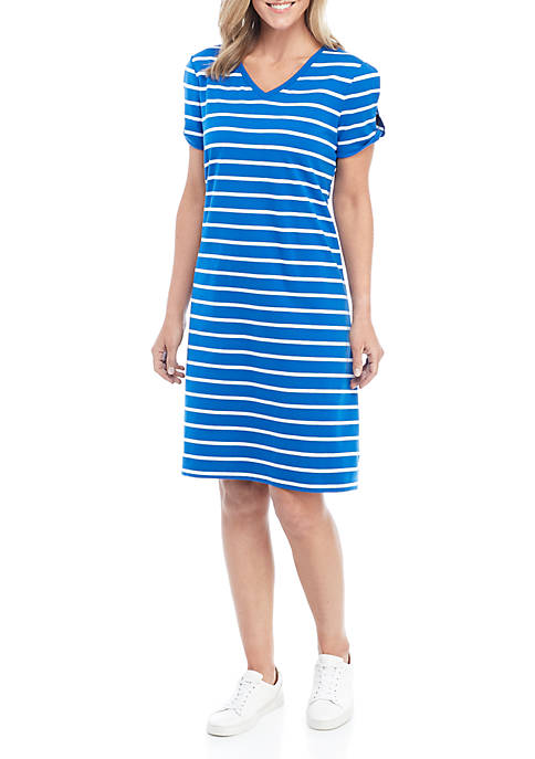 Womens Twist Sleeve Dress