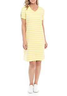 b9466ac5b Chris McLaughlin Dolman Sleeve V Neck Maxi Dress · Kim Rogers® Twist Sleeve  Dress