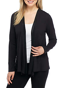 Layered Solid Cardigan