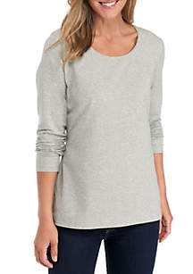 Long Sleeve 95-5 Mega Heather Top