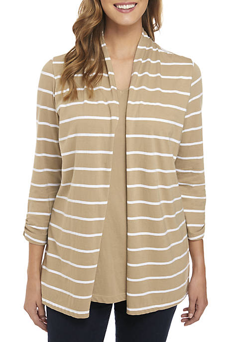 Kim Rogers® Long Sleeve Cardigan Tunic