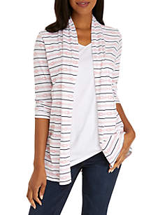 Kim Rogers® Cardigan Tunic Top