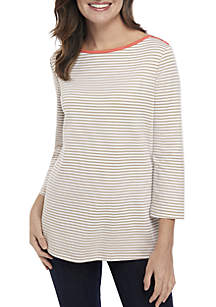 Kim Rogers® Boat Neck Top