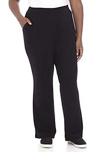 Plus Size Average Length Pants