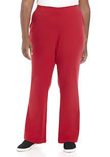 Kim Rogers® Plus Size Average Length Pants