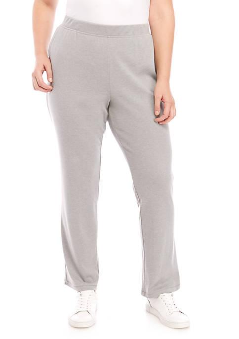 Plus Sizer Interlock Pants - Average