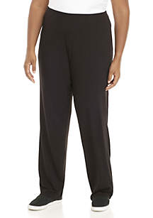 Plus Size Average Straight Leg Pants