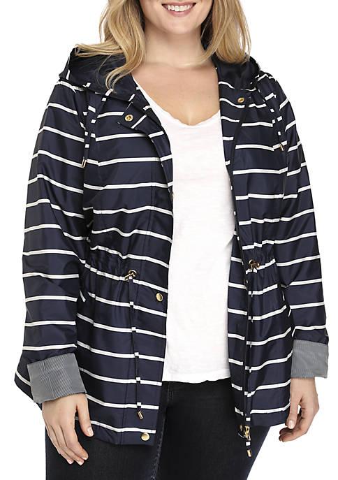 6a99f9c8b31 Kim Rogers® Plus Size Anorak Jacket