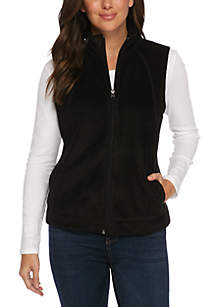 Zip Front Fleece Vest