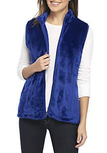 Fleece Zip Vest