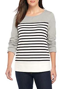 Long Sleeve Crew Sweatshirt