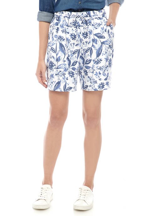 Kim Rogers® Womens Soft Pull On Shorts