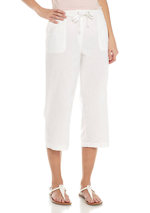 Kim Rogers® Crop Wide Leg Soft Pant