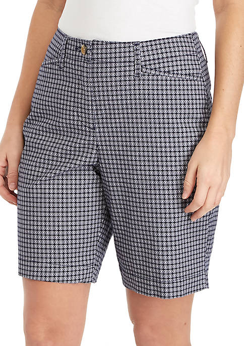Kim Rogers® Long Printed Shorts