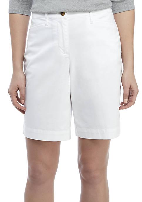 Long Solid Shorts