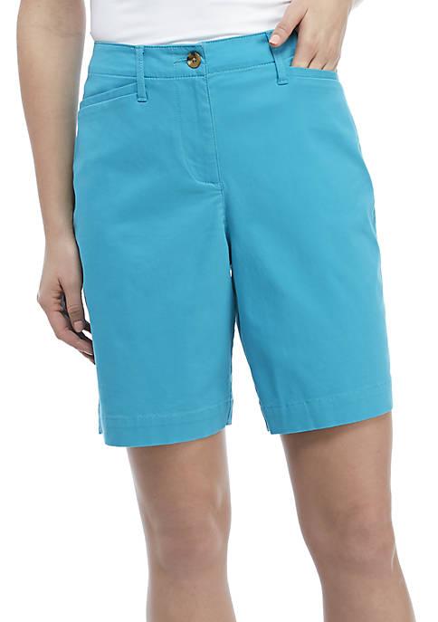 Kim Rogers® Long Solid Shorts