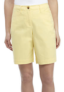 Kim Rogers® Long Solid Shorts
