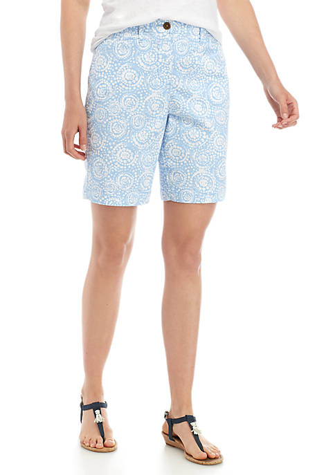 Kim Rogers® Printed Pocket Shorts
