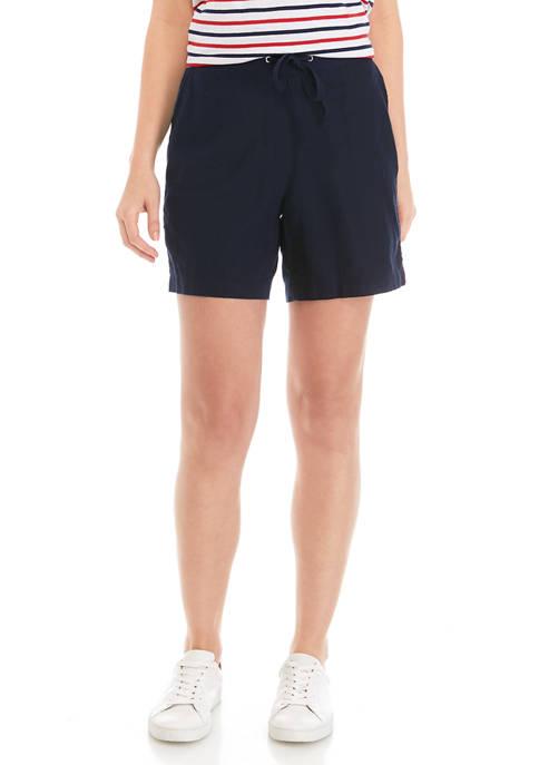 Womens Linen Shorts