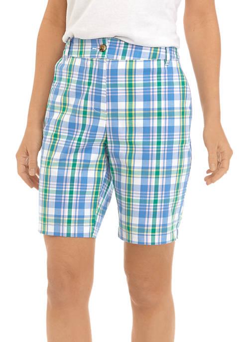 Kim Rogers® Womens Yarn Dye Twill Shorts