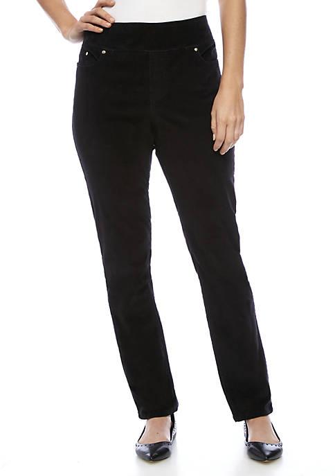 Kim Rogers® Five Pocket Corduroy Pants