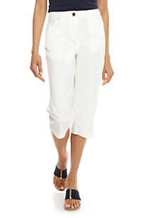 Kim Rogers® Pocket Capri Pants
