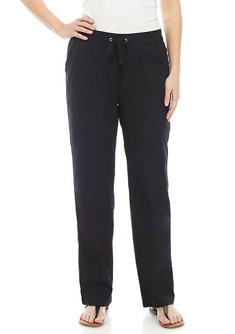 Tie Linen Pants
