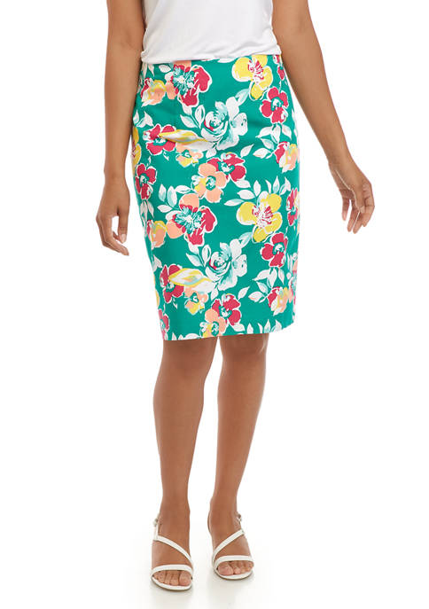 Kim Rogers® Womens Pencil Skirt