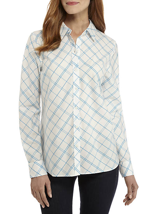 Kim Rogers® Long Sleeve Easy Care Shirt