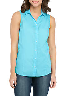 Kim Rogers® Sleeveless Easy Care Top