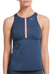 Nike® Optic Camo High Neck Swim Tankini