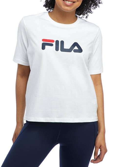 FILA® Womens Short Sleeve Eagle Graphic T-Shirt